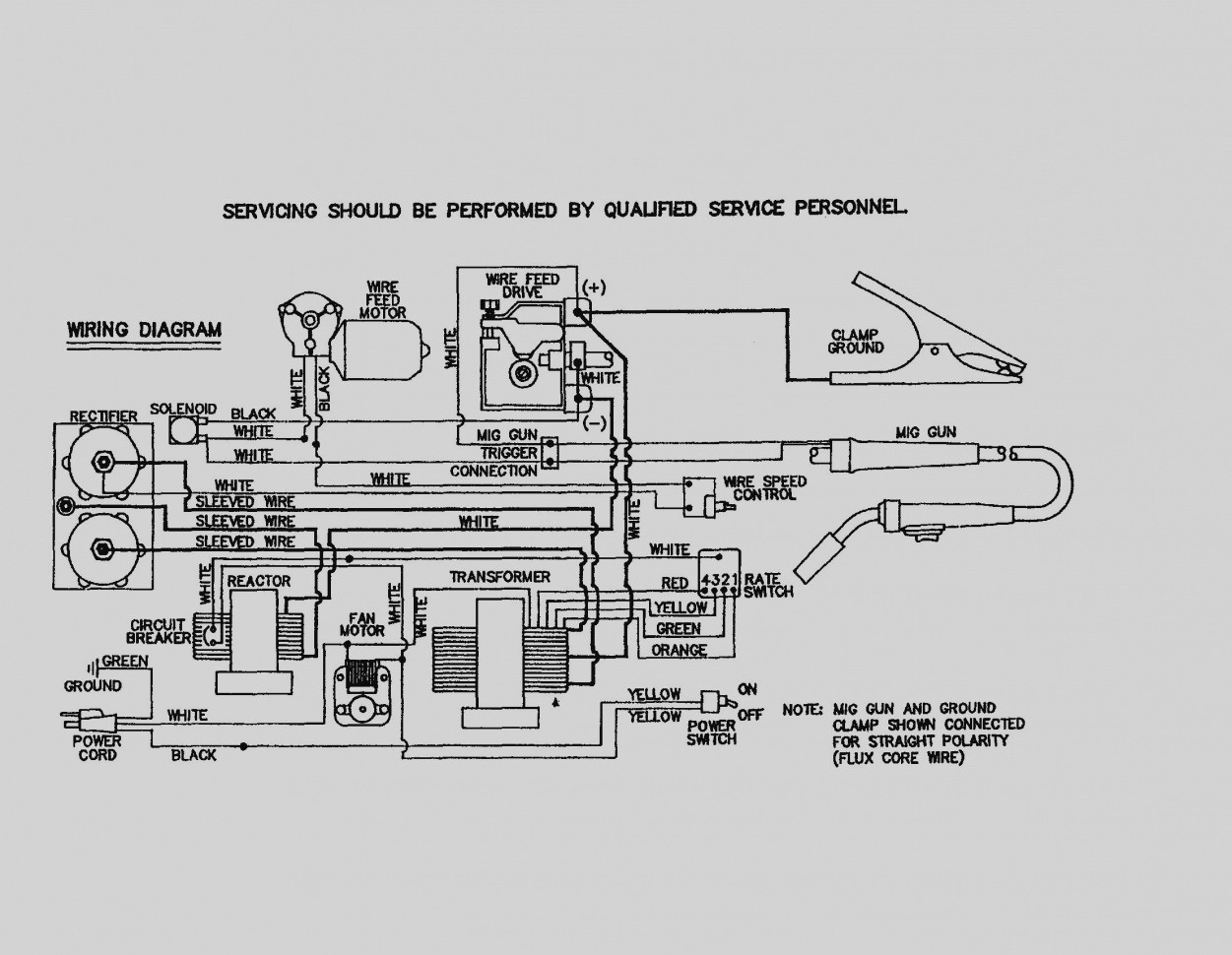 Lincoln Ac Dc 225 125 Welder Wiring Diagram. Lincoln 225