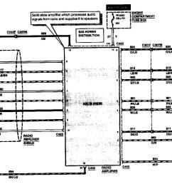 lincoln town car radio wiring diagram [ 1392 x 944 Pixel ]