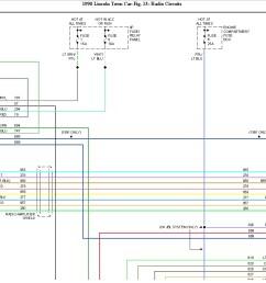 lincoln town car radio wiring diagram [ 1265 x 880 Pixel ]