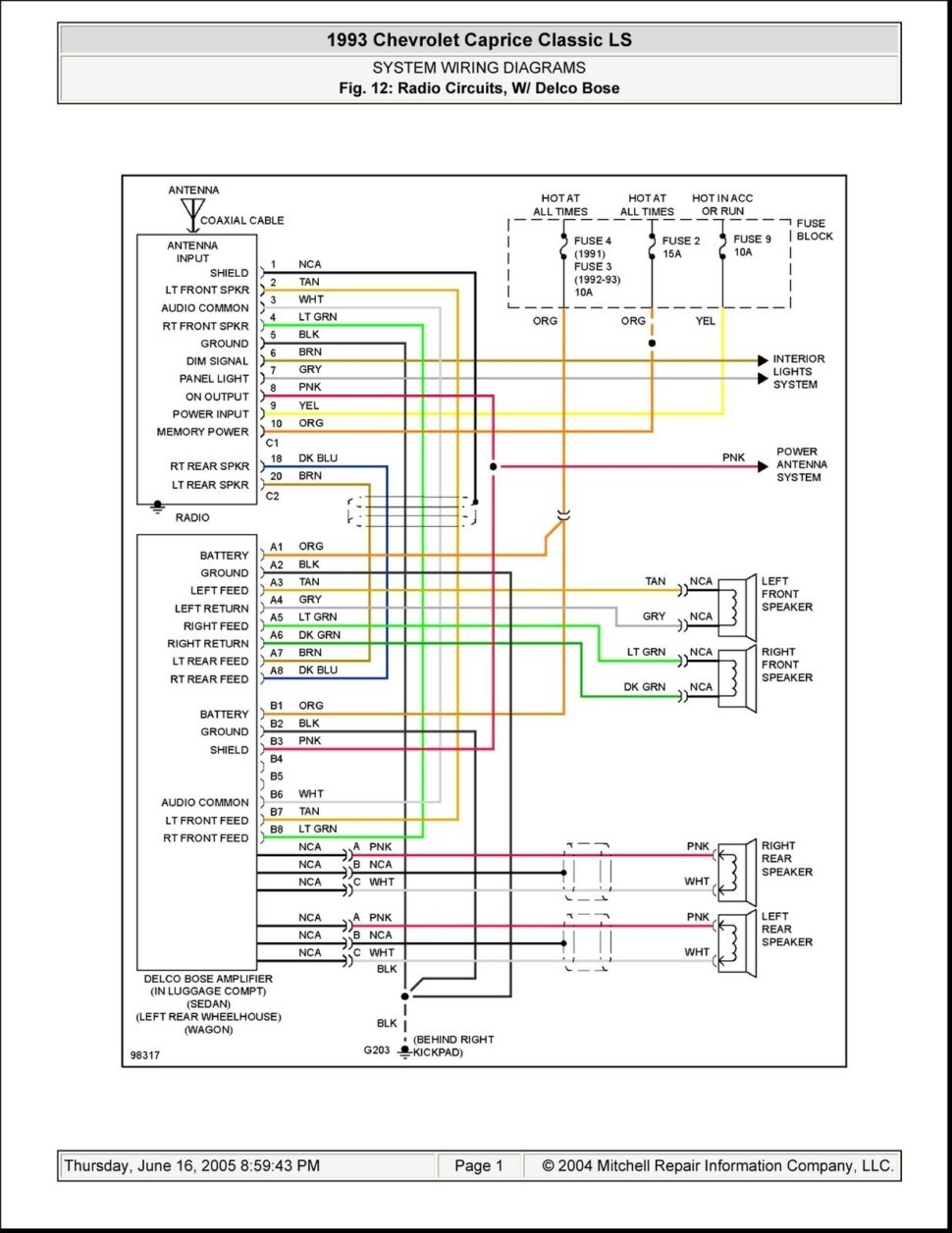 medium resolution of lincoln town car radio wiring diagram