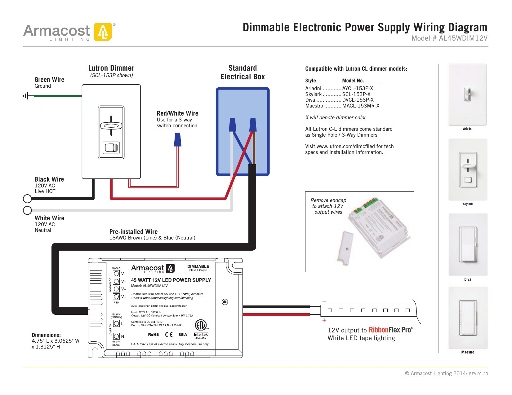 hight resolution of lutron single pole dimmer switch wiring diagram