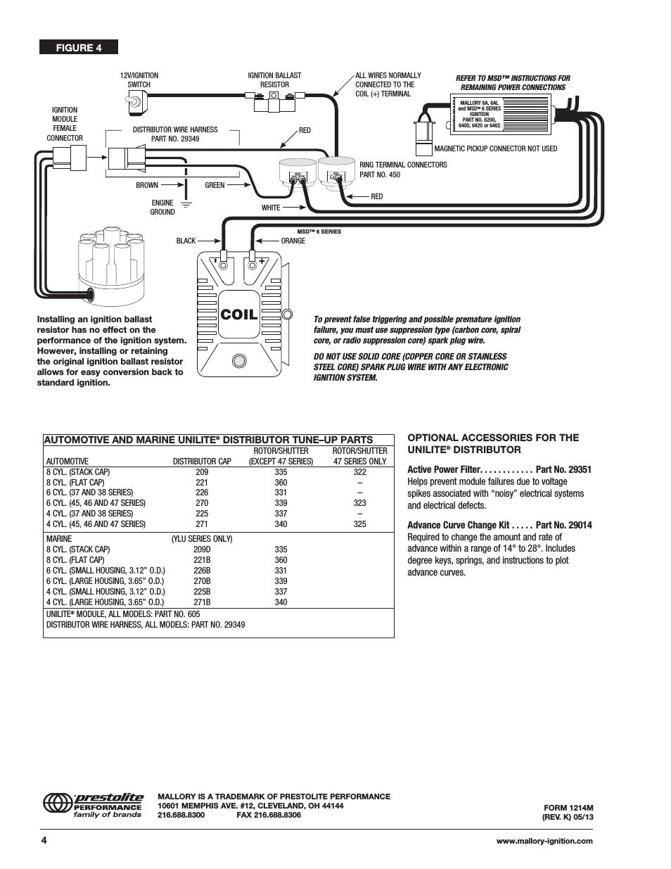 medium resolution of mallory ignition wiring diagram free wiring diagrammallory ignition wiring diagram coil mallory ignition mallory unilite distributor