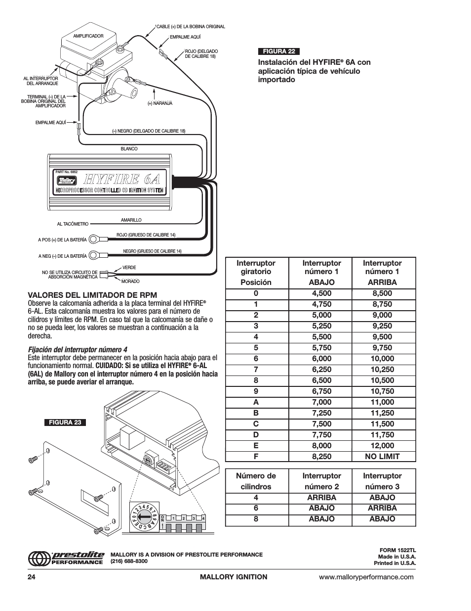 medium resolution of mallory ignition wiring diagram hhy yf fiir re e 6 6a a 5n