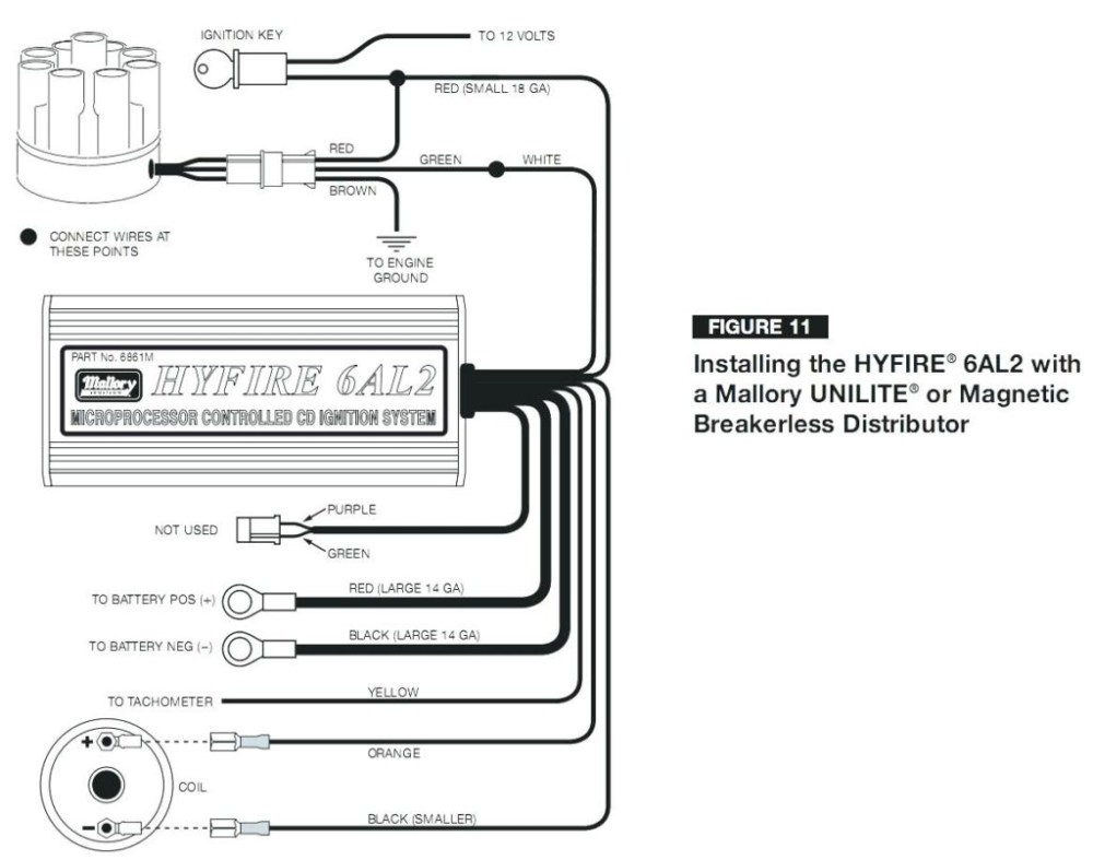 medium resolution of mallory ignition wiring diagram digital motorcycle wiring diagram hogtunes wiring diagram chris products wiring diagram