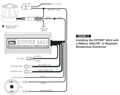 small resolution of mallory ignition wiring diagram digital motorcycle wiring diagram hogtunes wiring diagram chris products wiring diagram