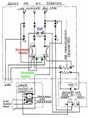 Mechanically Held Lighting Contactor Wiring Diagram | Free