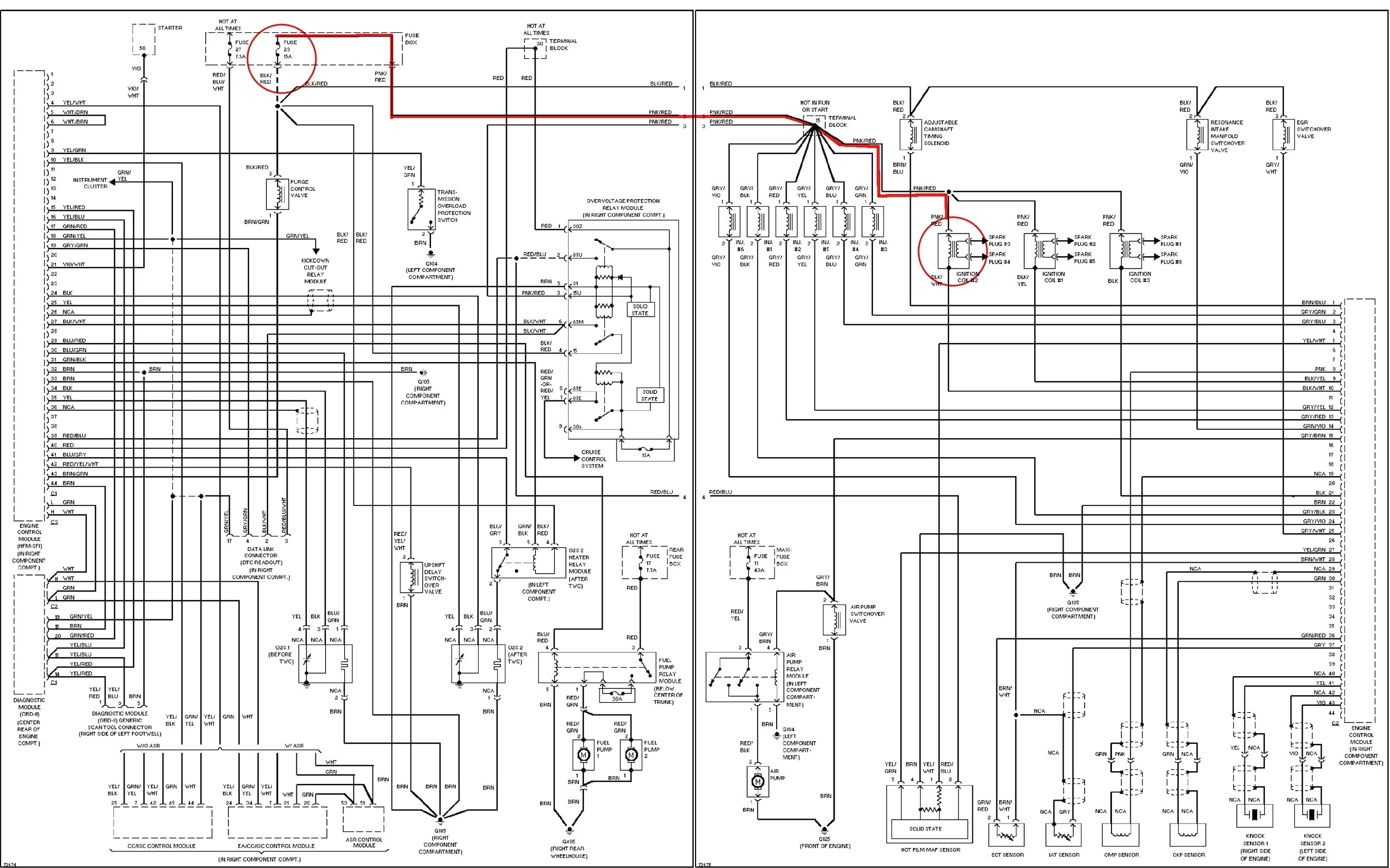 wiring diagram labeled
