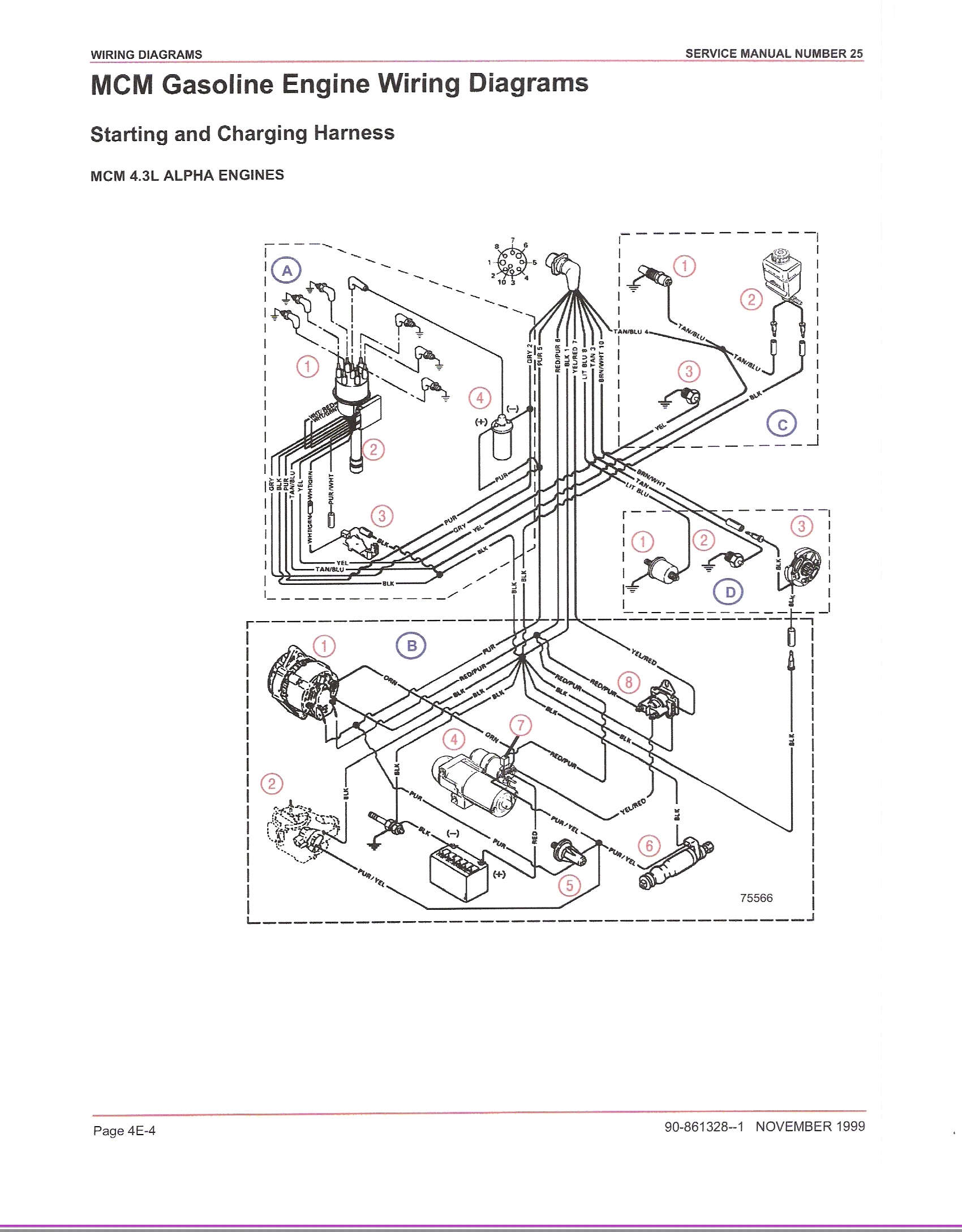 Mercruiser 140 Alternator Wiring Diagram Wiring Diagram