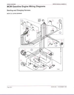 Mercruiser 43 Wiring Diagram | Free Wiring Diagram