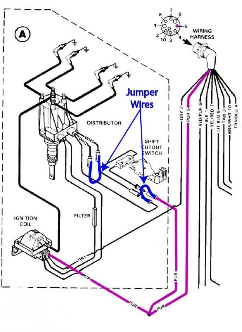 on 4 3l mercruiser ignition wiring schematic