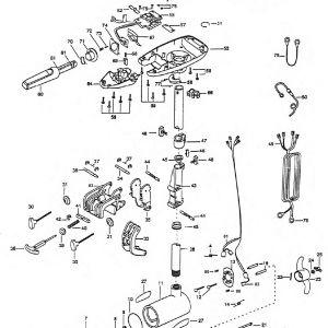 Battery Wiring Diagram On Minn Kota 65 Trolling Motor