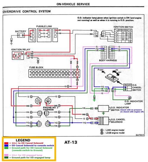 Mini Split Wiring Diagram - service manual on