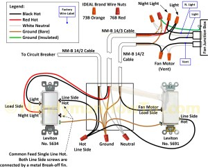 Mobile Home Light Switch Wiring Diagram | Free Wiring Diagram