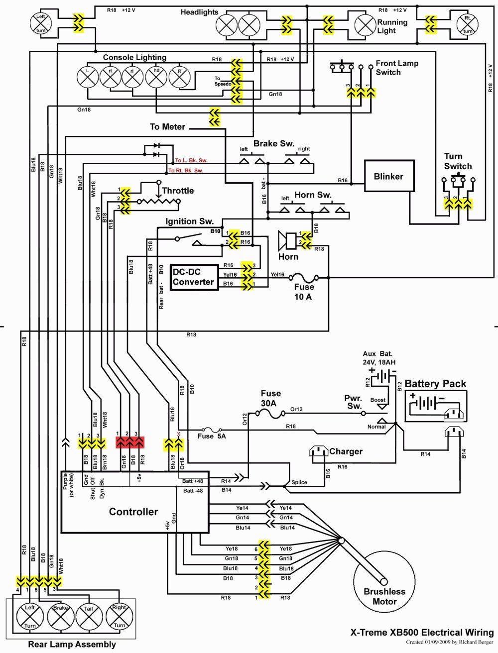 medium resolution of mobility scooter wiring diagram wiring diagram electric scooter new baja scooter 48 volt wiring schematic