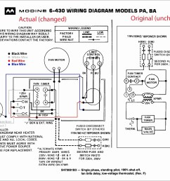 modine gas heater wiring diagram modine heater parts diagram for amazing trane gas furnace wiring [ 2413 x 1810 Pixel ]
