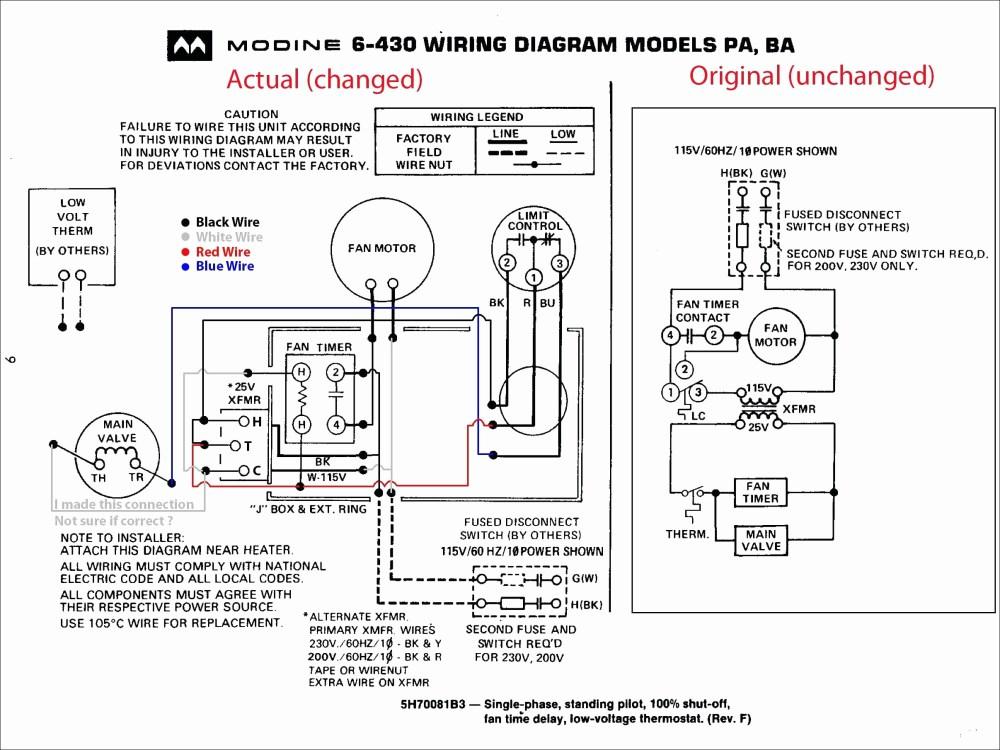 medium resolution of modine gas heater wiring diagram modine heater parts diagram for amazing trane gas furnace wiring