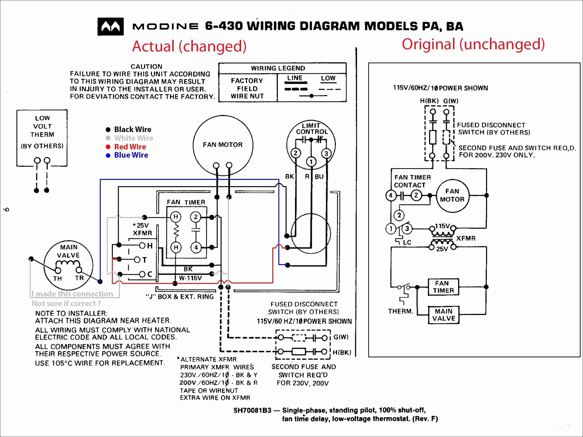 hight resolution of modine gas heater wiring diagram modine heater parts diagram for amazing trane gas furnace wiring
