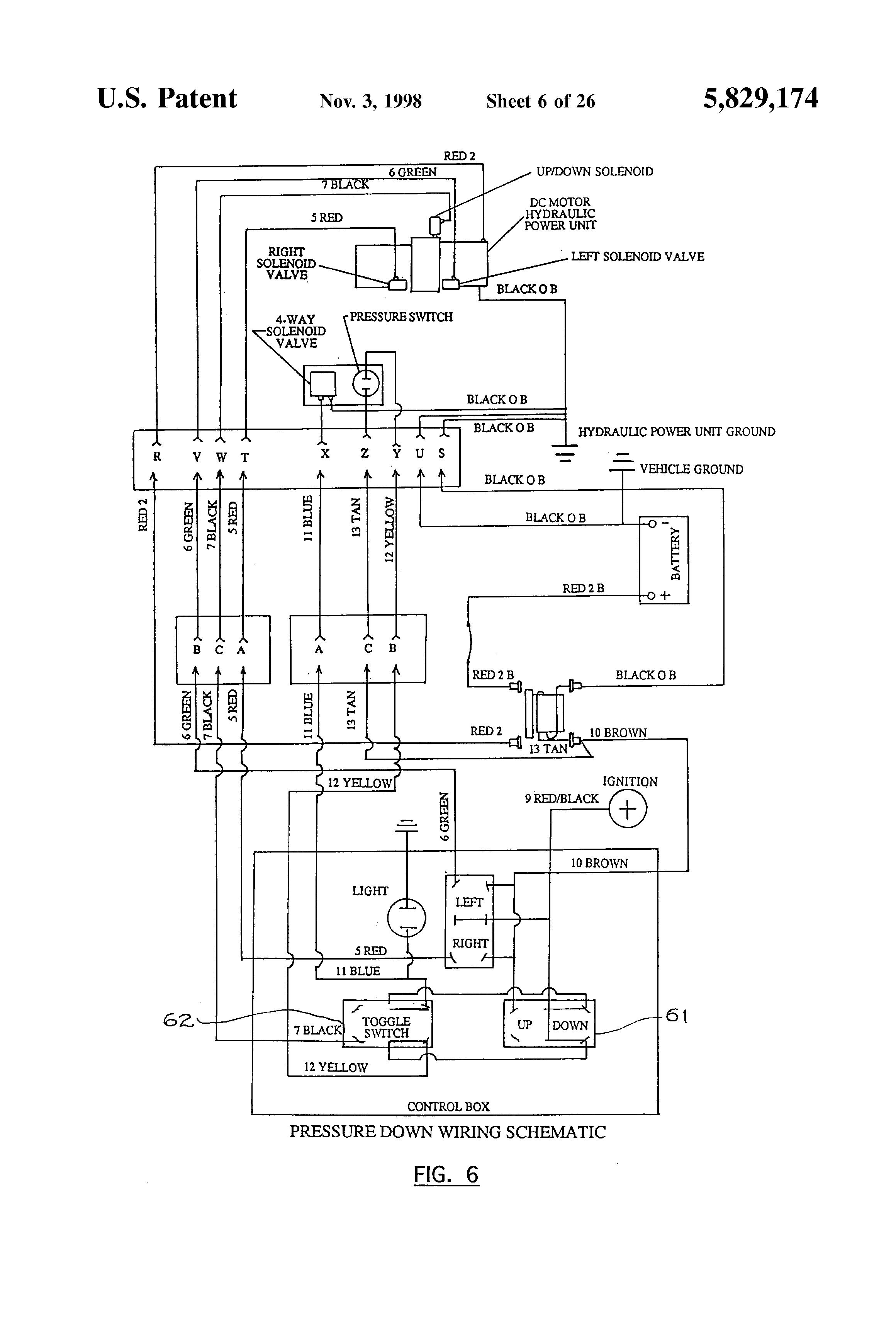 whammy hydraulic wiring diagram