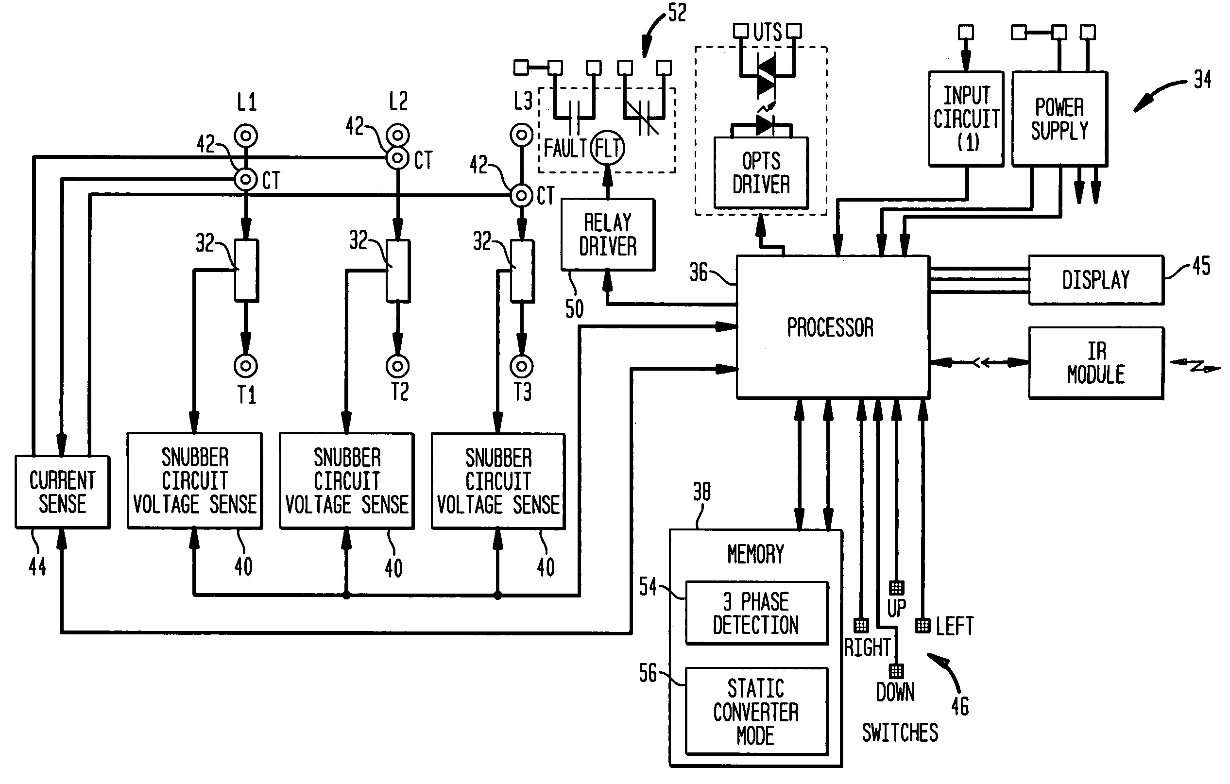 motor starter circuit diagram