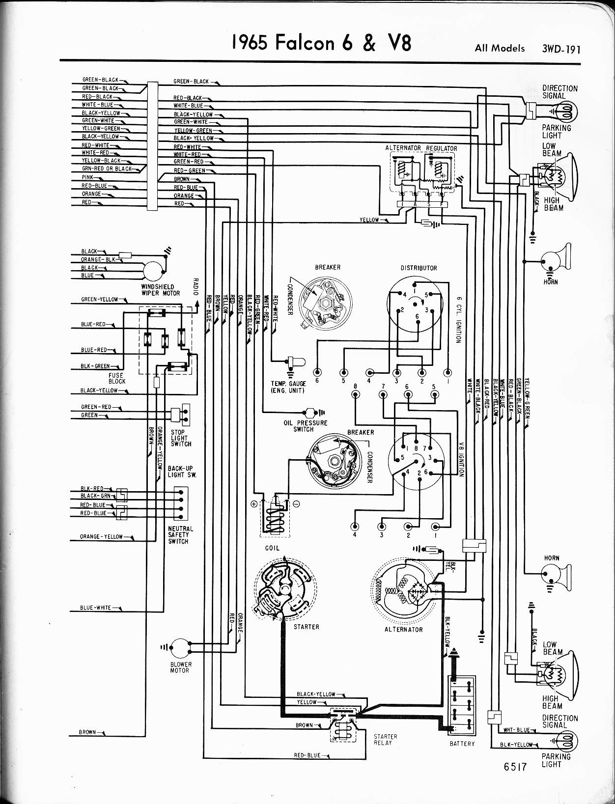 motorcraft distributor wiring diagram