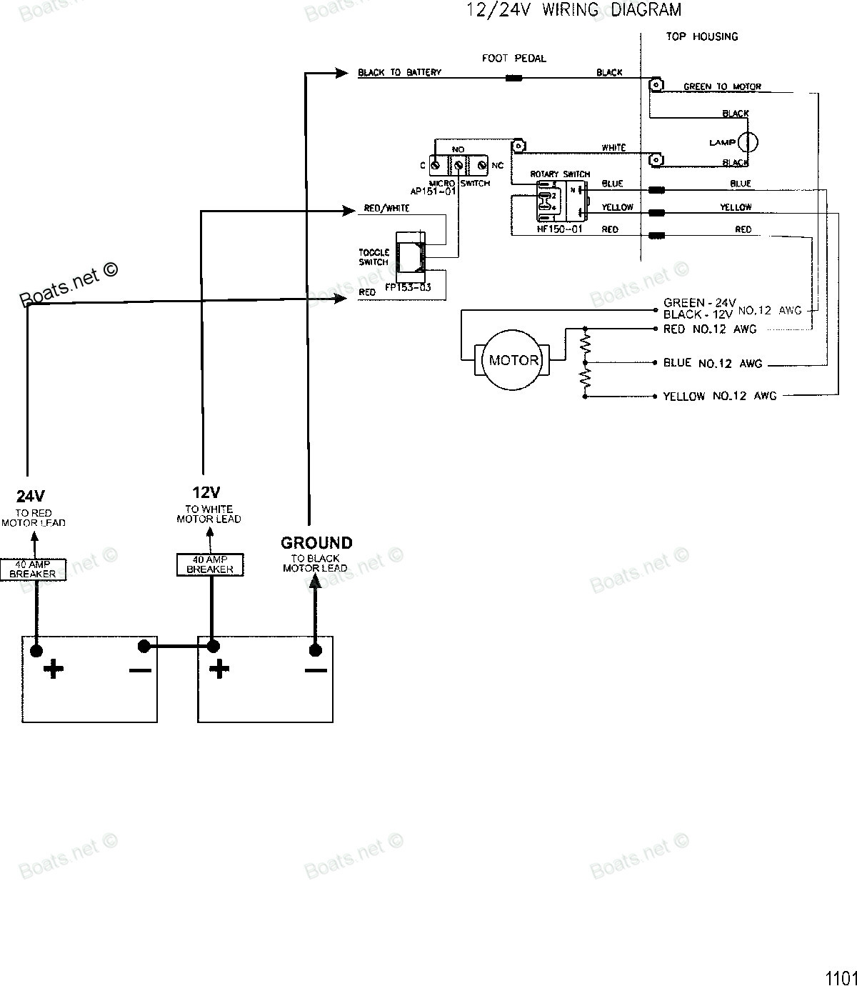 hight resolution of johnson trolling motor 12 volt wiring diagram data wiring diagram 12v 24v trolling motor wiring diagram