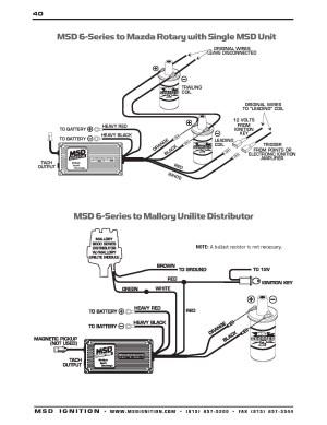 Msd 6425 Wiring Diagram | Free Wiring Diagram