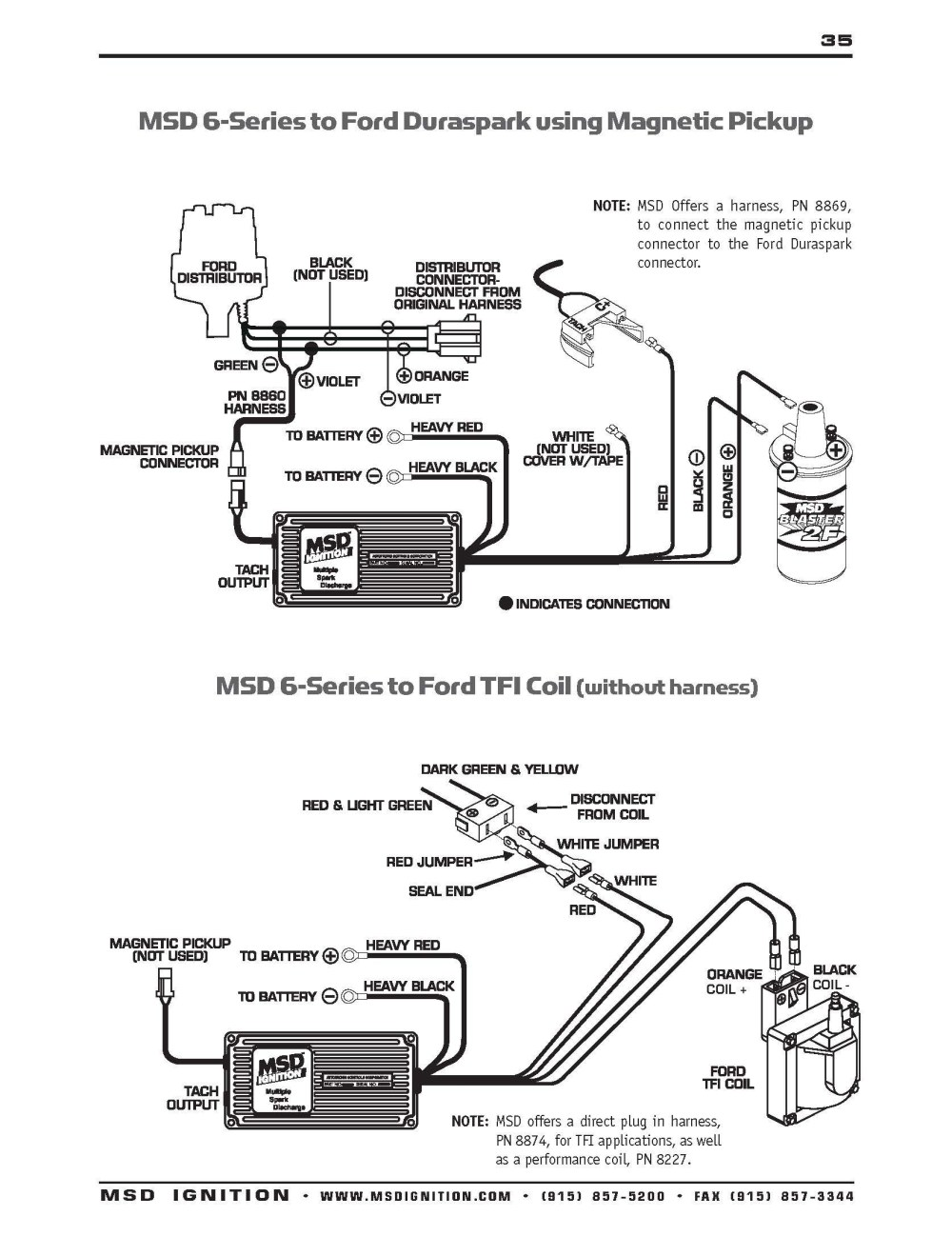 medium resolution of msd ford wiring diagrams 94 database wiring diagram msd 8350 wiring diagram ford