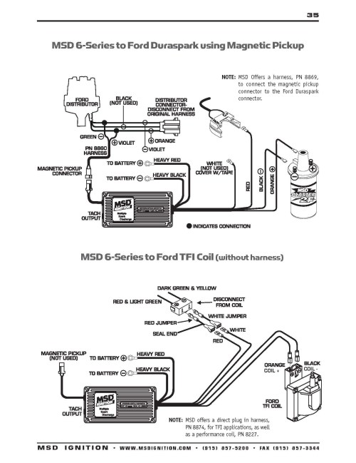 small resolution of msd ford wiring diagrams 94 database wiring diagram msd 8350 wiring diagram ford