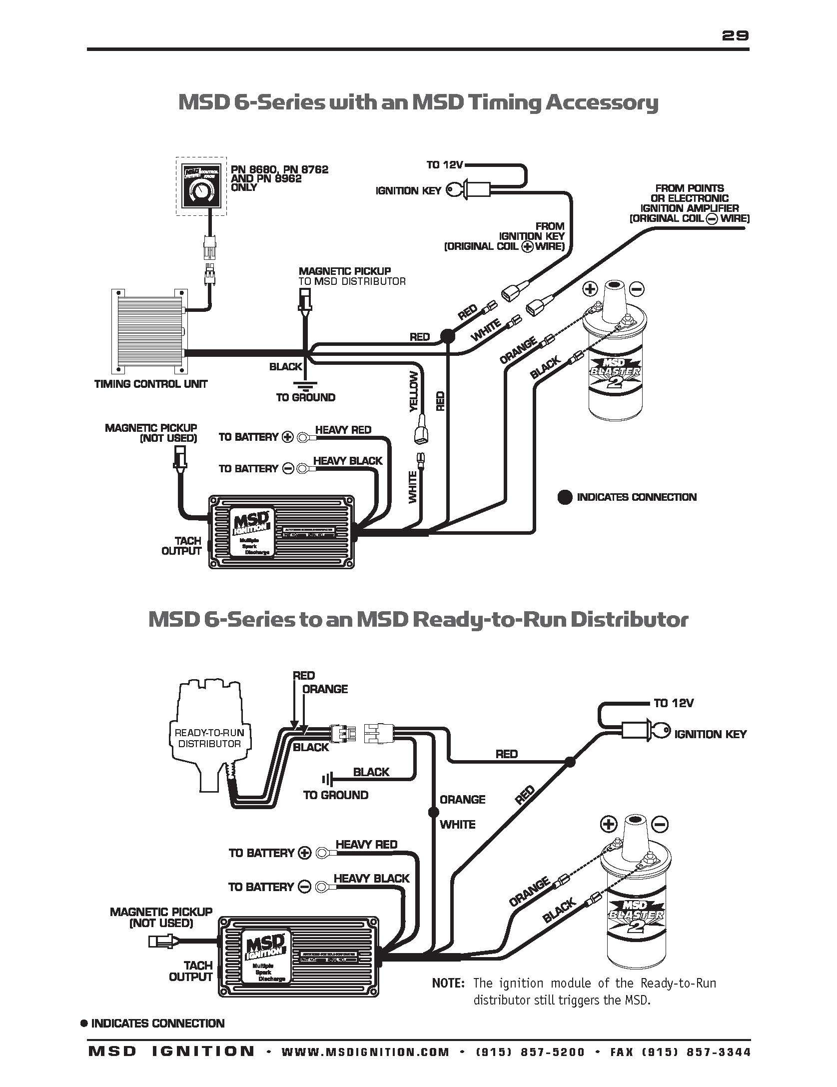 Ignition Wiring Diagram Likewise Msd Distributor Wiring Diagram
