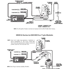 Wiring Diagram For Msd 6al Diagrams Light Switches Chevrolet Online Harnes Engine Computer Harness Guide And Tach Adapter