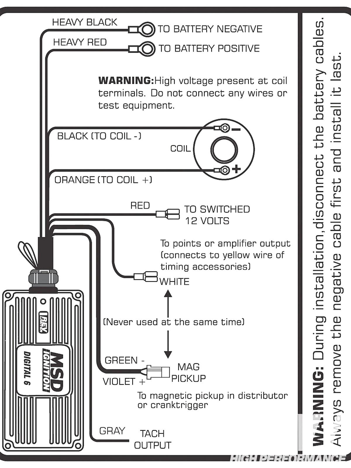 Mallory 6al Wiring Diagram | Wiring Diagram on msd 6al 2 wiring diagram, msd 6al box wiring diagram, distributor hei wiring diagram, msd 6al tach wiring diagram,