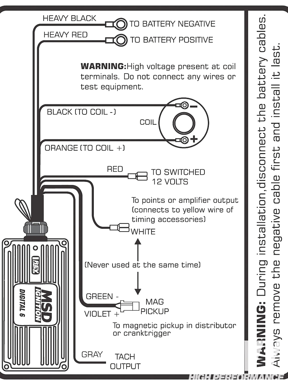 edelbrock msd 6al wiring diagram wiring diagram