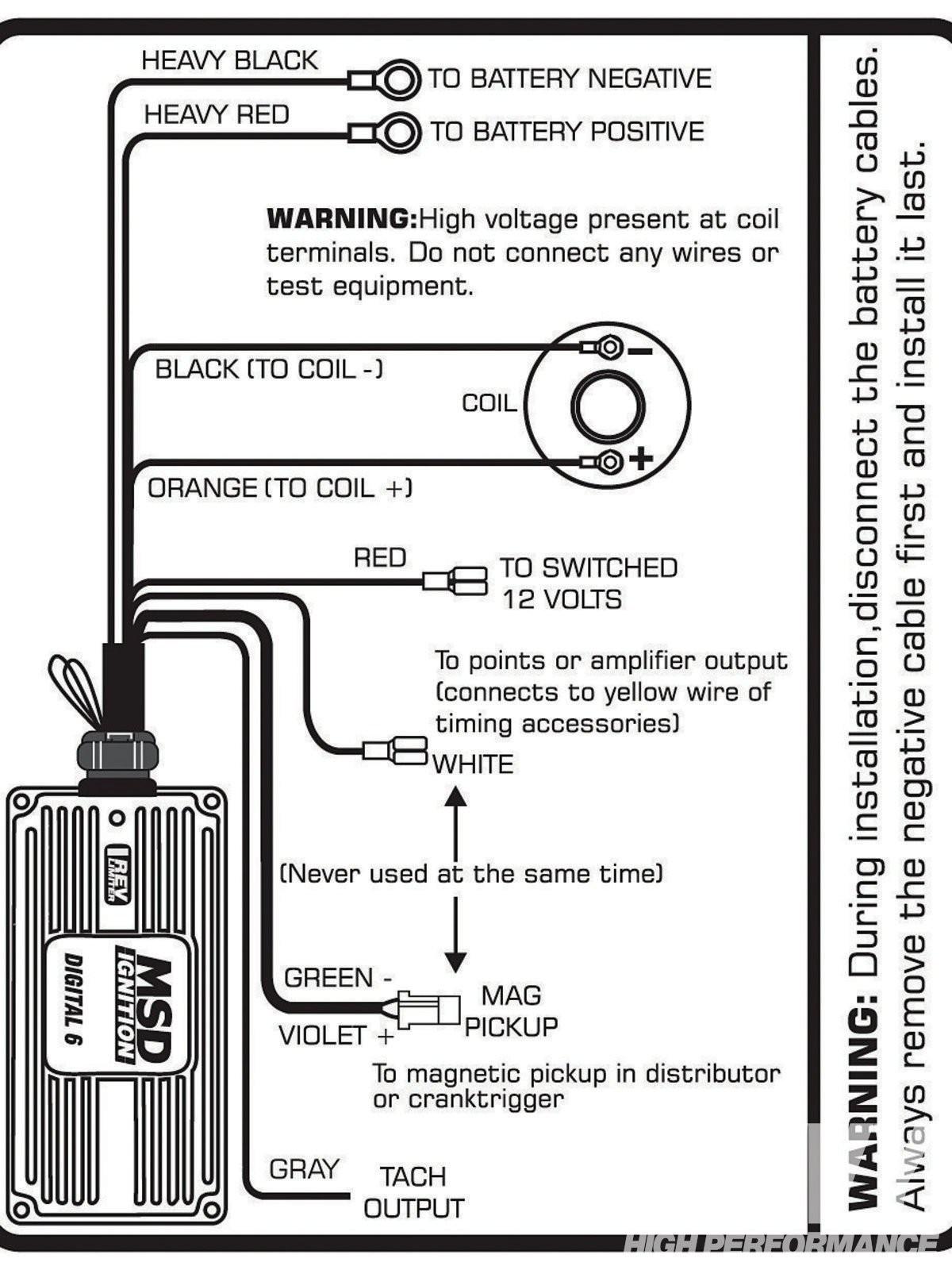 Msd 6al Hei Wiring Diagram Chevy Msd 6al Wiring Diagram Chevy Free Wiring Diagram