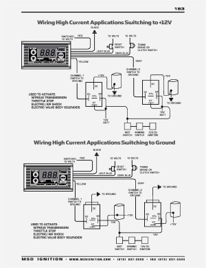 Msd Ignition 6al 6420 Wiring Diagram | Free Wiring Diagram