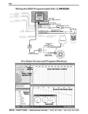 Msd Ignition 6al Wiring Diagram | Free Wiring Diagram
