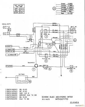 Mtd Riding Lawn Mower Wiring Diagram | Free Wiring Diagram