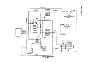 Mtd Riding Lawn Mower Wiring Diagram | Free Wiring Diagram