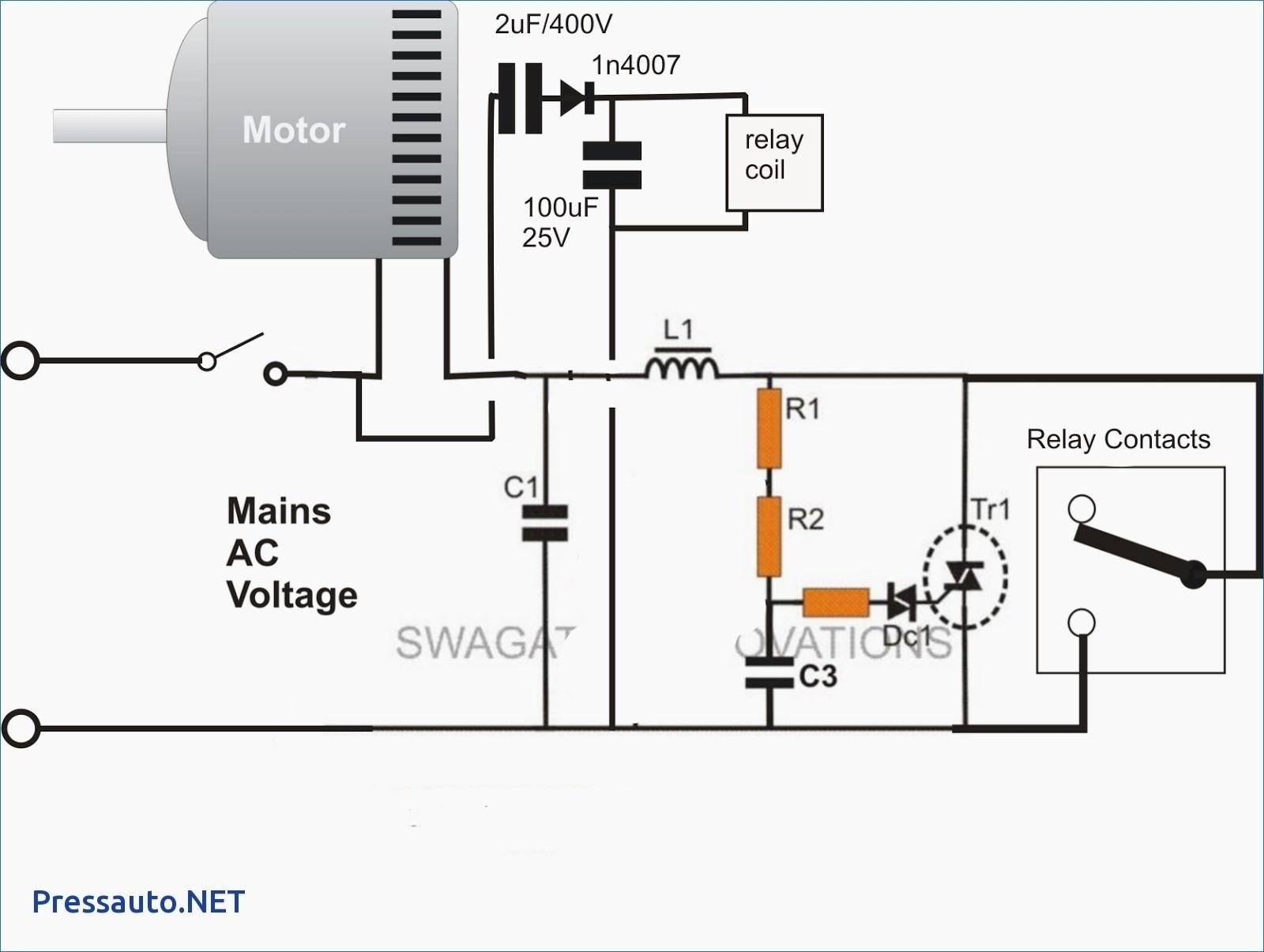 dc motor starter wiring diagram picture