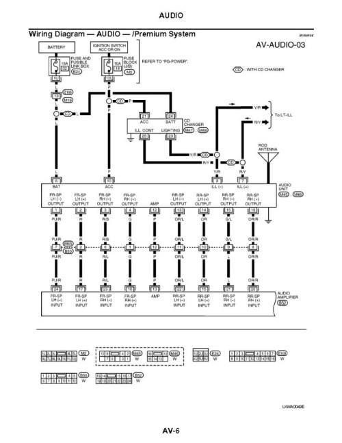 small resolution of nissan altima radio wiring diagram 2003 nissan maxima bose audio wiring diagram 2002 sentra radio