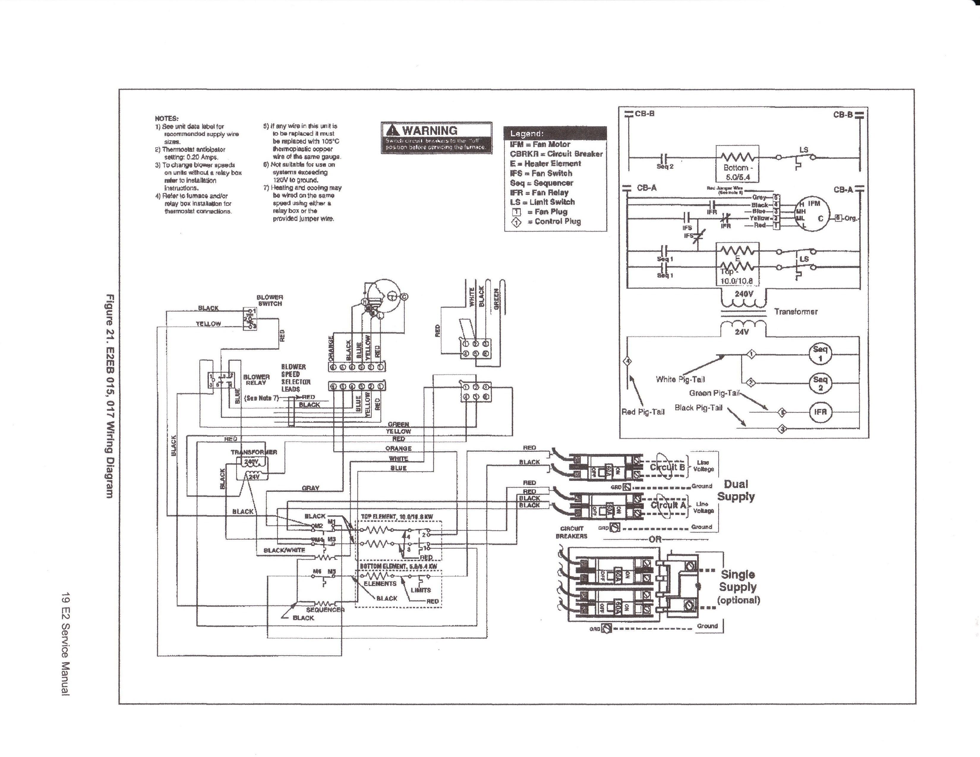 heil wiring diagram furnace