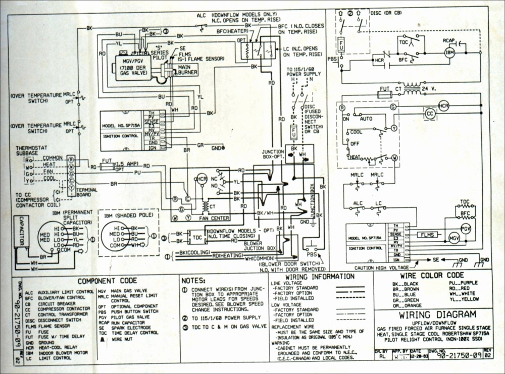 medium resolution of gibson gas furnace wiring wiring diagram datasource gibson furnace thermostat wiring