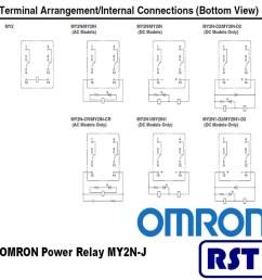 omron ly2 relay wiring diagram [ 1000 x 1000 Pixel ]