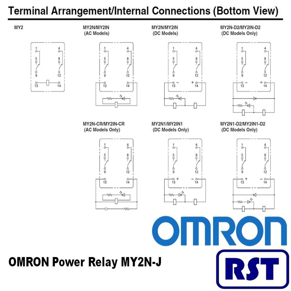 hight resolution of omron ly2 relay wiring diagram