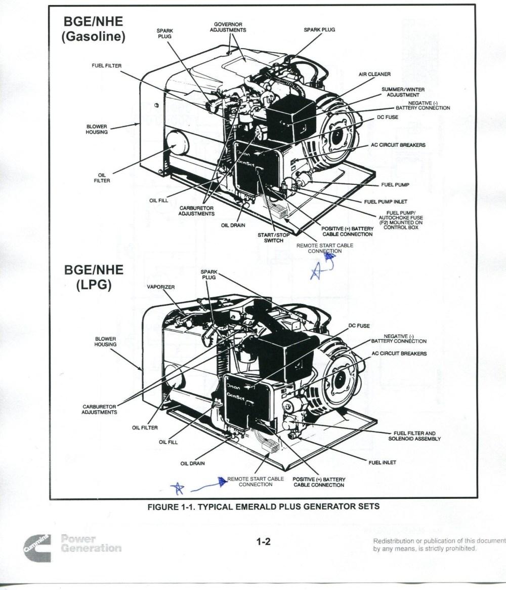 medium resolution of onan emerald 1 genset wiring diagram