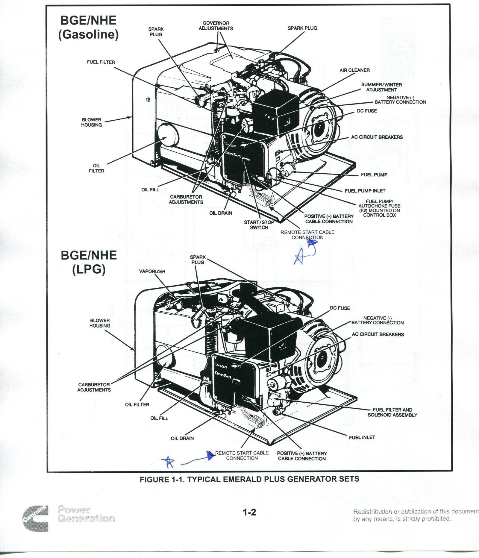 hight resolution of onan emerald 1 genset wiring diagram