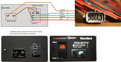 small resolution of onan generator remote start switch wiring diagram