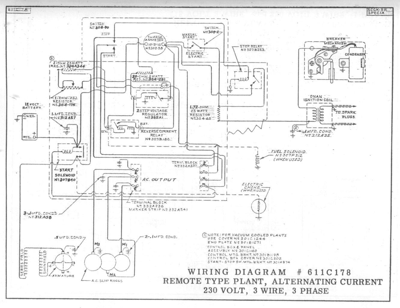 circuit diagrams for generator wiring diagram
