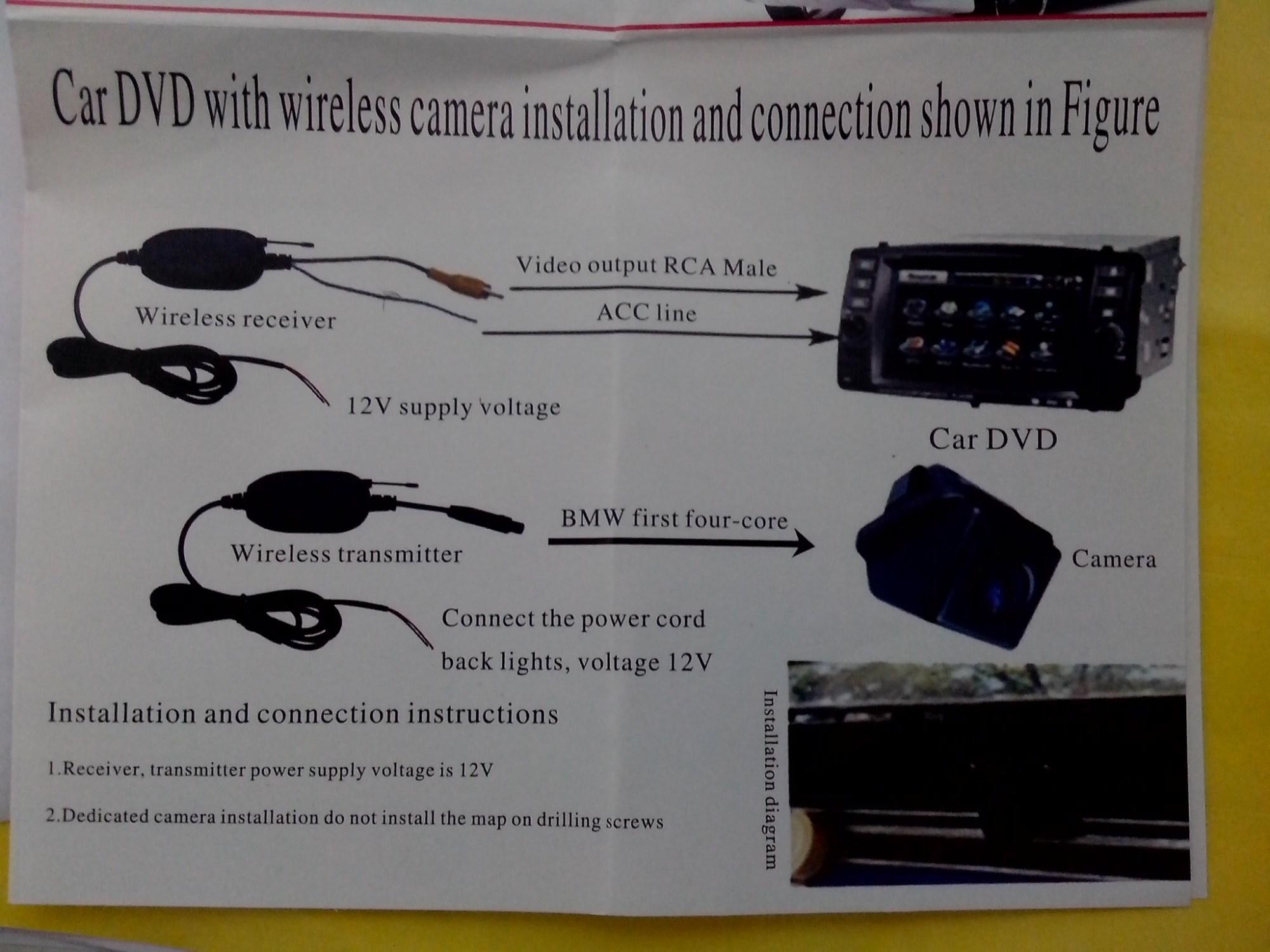 hight resolution of peak backup camera wiring diagram reverse camera wiring dedicated electrical drawing wiring diagram 4m