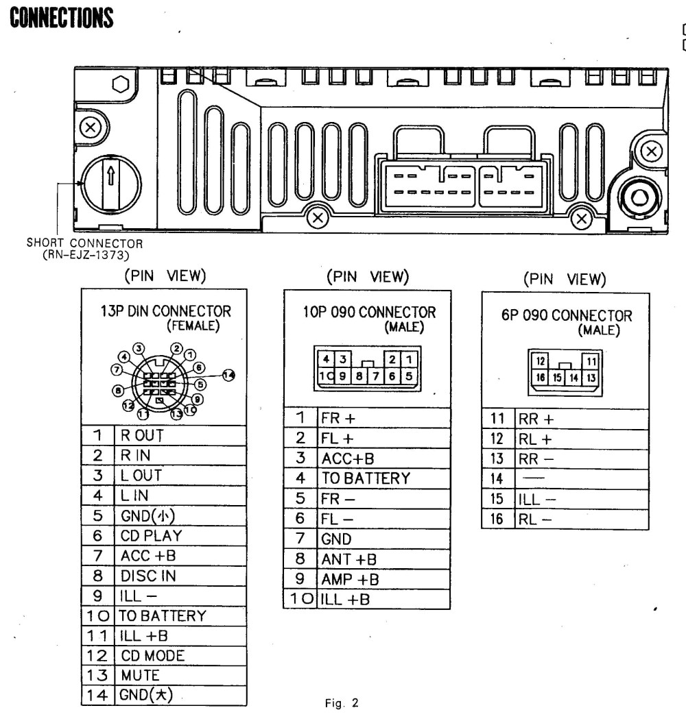 medium resolution of pioneer deh p6400 wiring diagram wiring diagram third level pioneer deh 150mp instalation diagram pioneer deh p6000ub wiring diagram