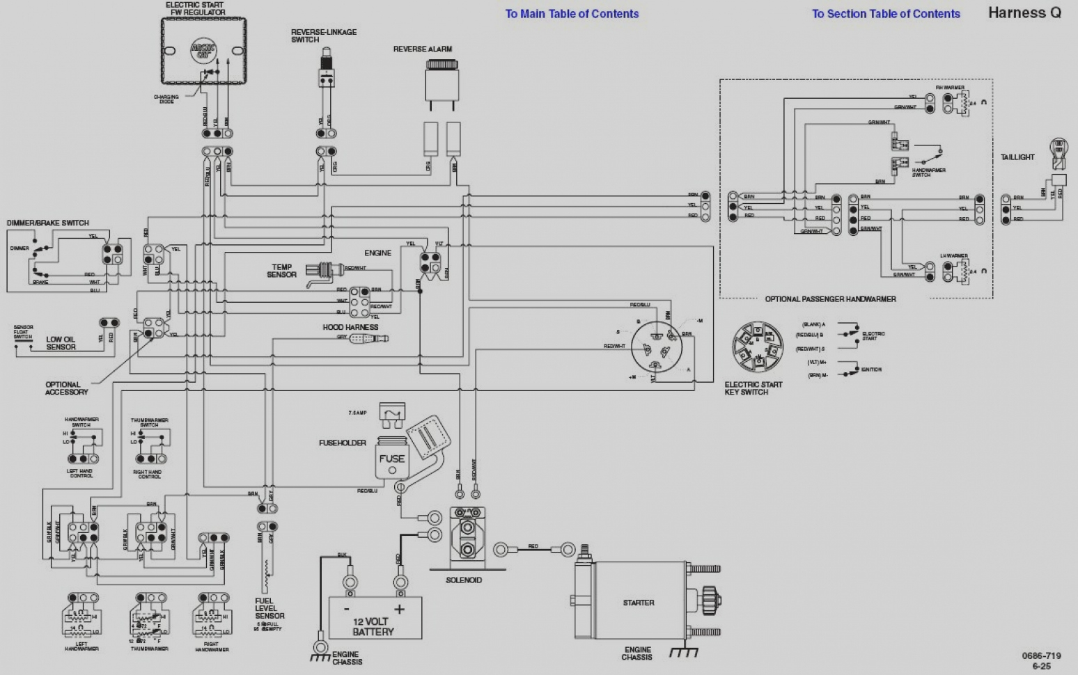 polaris snowmobile wiring schematic